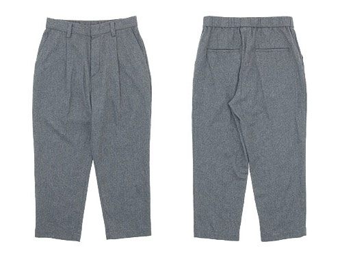 TOUJOURS Tapered Tuck Trousers