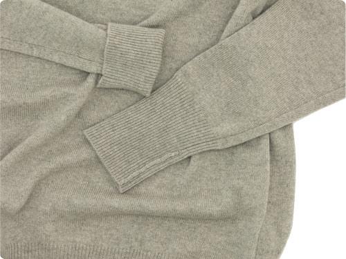 TOUJOURS Plain Stitch Crew Neck Pullover