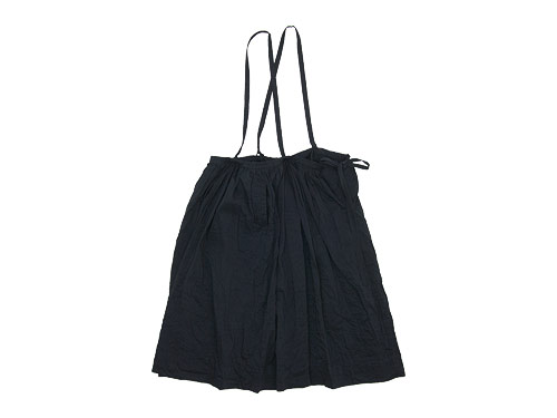 TOUJOURS Drawstring Suspender Skirt / Bulky Yarn Cotton Ankle Rib Socks