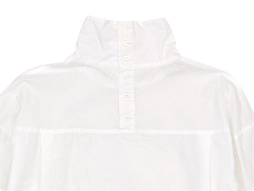 TOUJOURS High Neck Big Shirt