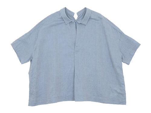 TOUJOURS Open Back Yolk Skipper Shirt / Waist Overalls