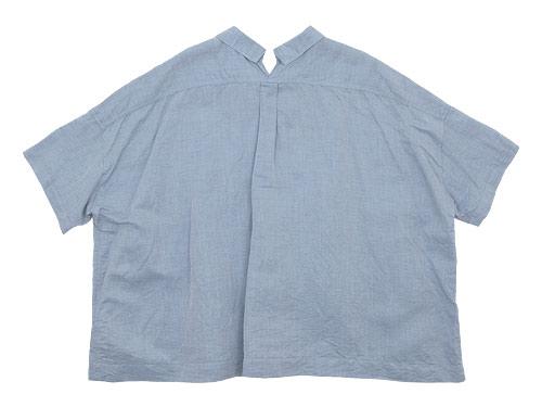 TOUJOURS Open Back Yolk Skipper Shirt