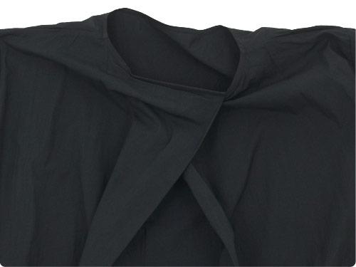 TOUJOURS Boat Neck Wrap Back Shirt