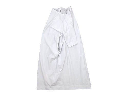 TOUJOURS Boat Neck Wrap Back Shirt Dress
