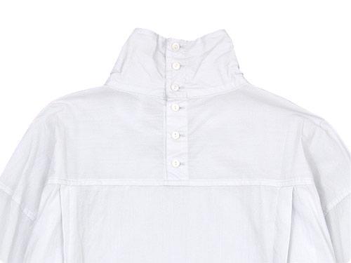 TOUJOURS High Neck Big Shirt Dress