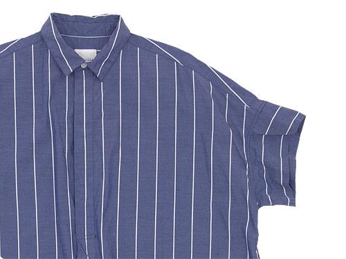 TOUJOURS Short Sleeve Wide Shirt Dress
