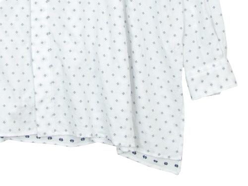 TOUJOURS Back Gathered Bosom Shirt