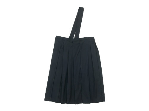 TOUJOURS One Shoulder Random Pleated Skirt