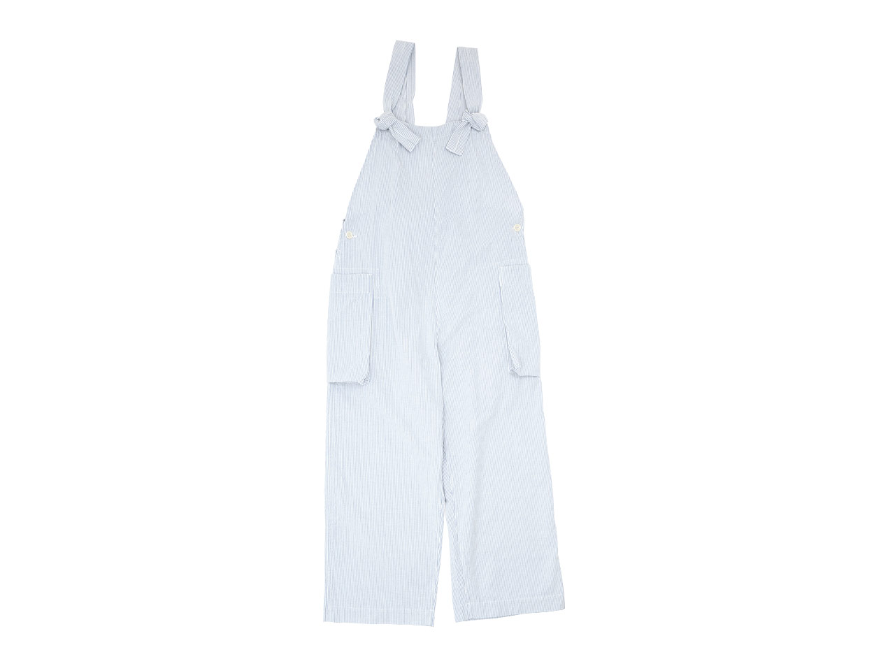 TOUJOURS Classic Overalls HICKORY STRIPE