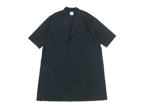 TOUJOURS Side Seam Vents Light Coat / Frock Shirt / Big Bosom Shirt Dress