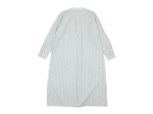TOUJOURS Big Bosom Shirt Dress STRIPE 【TM30GD03】