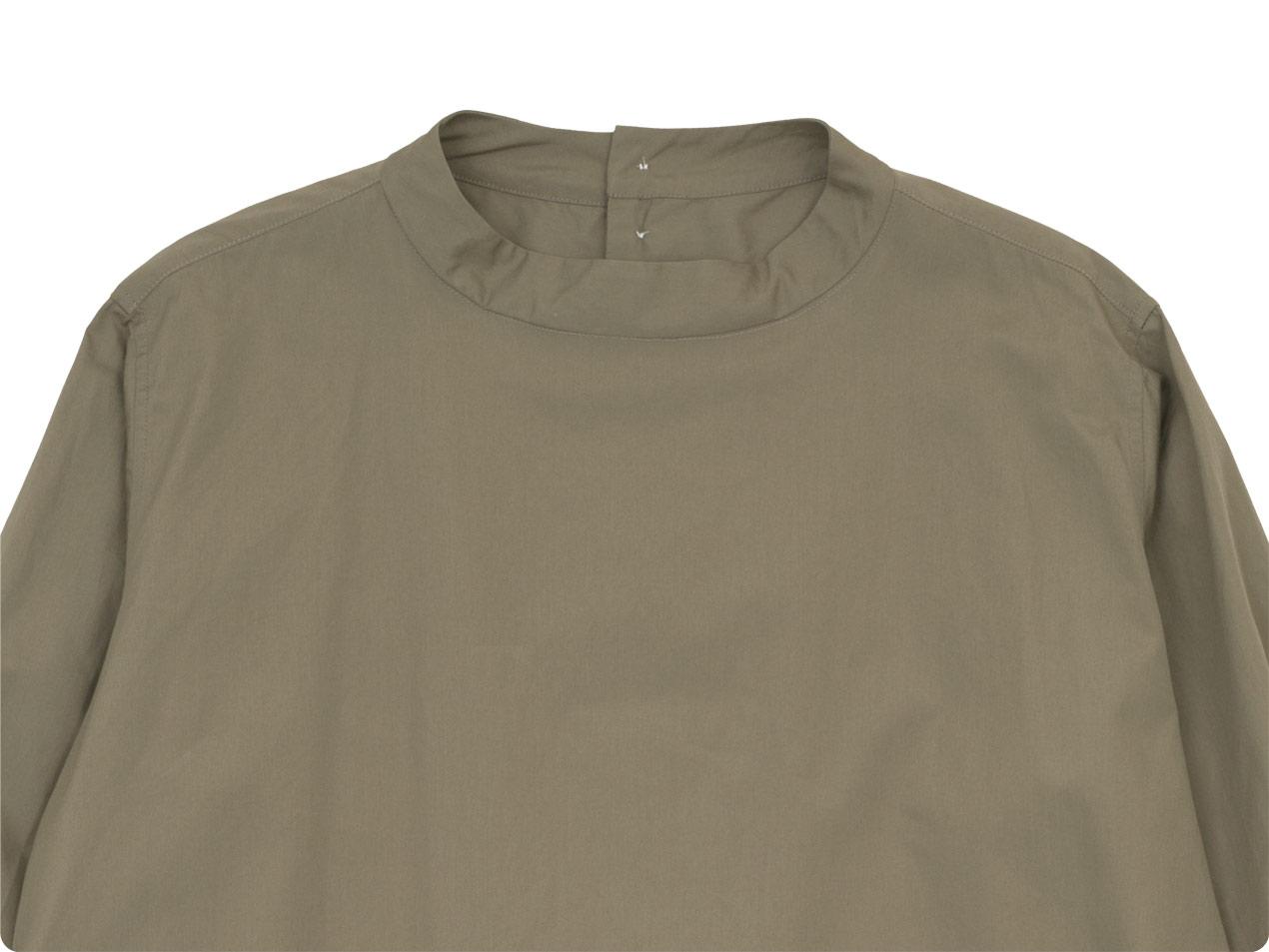 TOUJOURS Back Button Long Shirt 【MM32PS01】