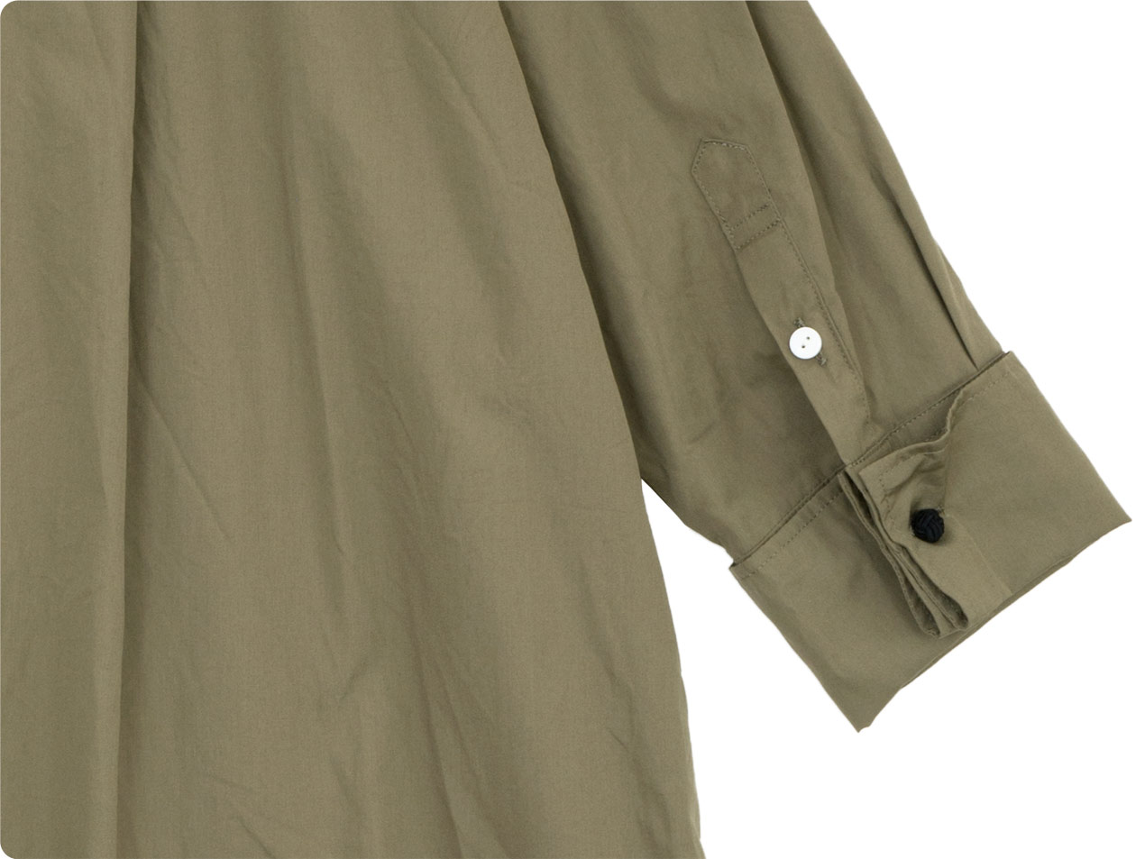 TOUJOURS Double Cuffs Wide Shirt 【MM32PS03】