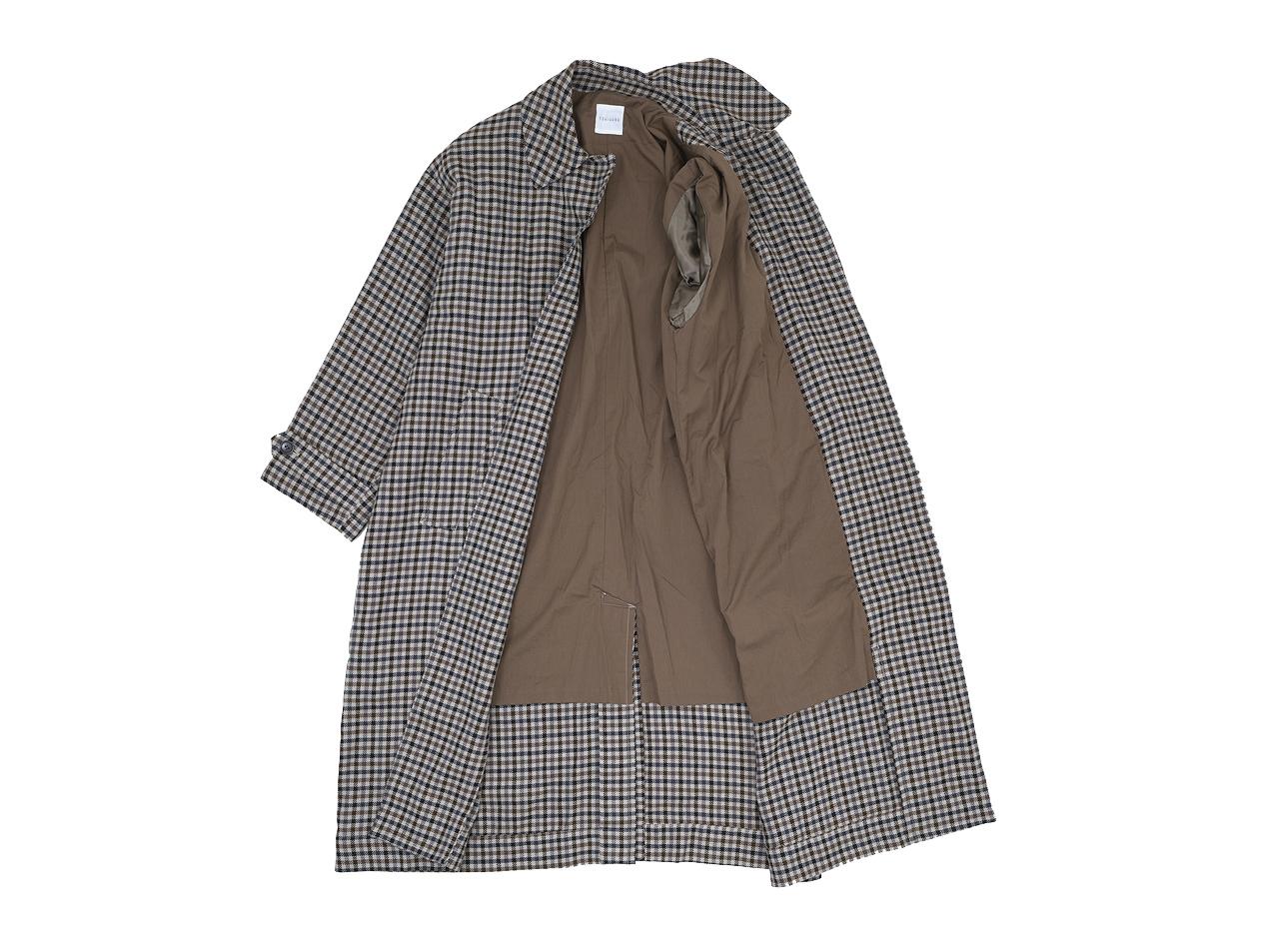 TOUJOURS Oversized Soutien Collar Robe Coat 【KM33HC01】