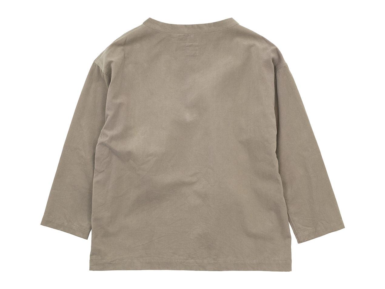 TOUJOURS Long Sleeve Big T-shirt
