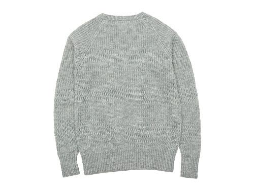 TOUJOURS Rib Stitch Crew Neck Pullover