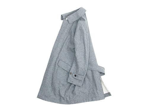 TOUJOURS Over Size Soutien Collar Coat