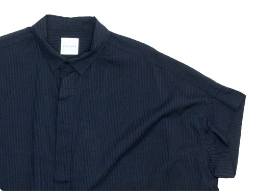TOUJOURS Short Sleeve Wide Shirts