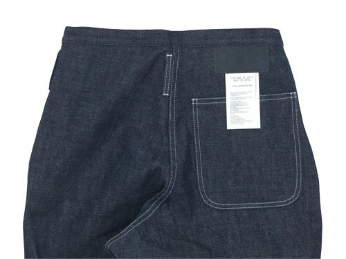 TUKI type3 indigo denim