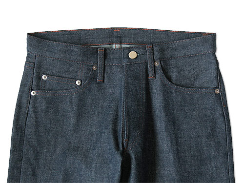 TUKI type1 indigo denim
