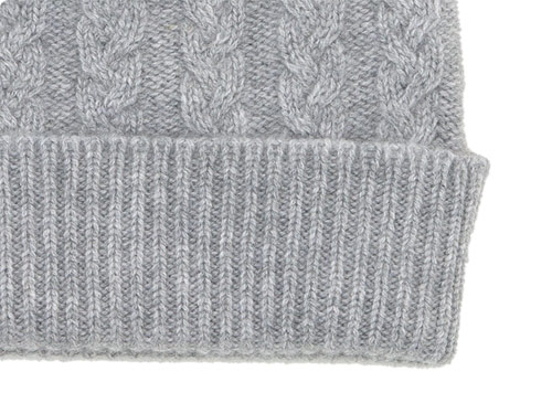 William Brunton Hand Knits Cable Hat