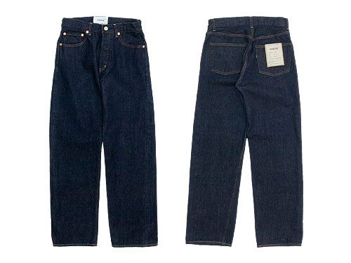YAECA DENIM PANTS STRAIGHT 14W