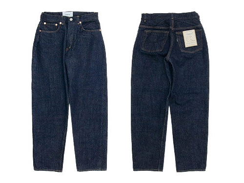 YAECA DENIM PANTS WIDE TAPERED