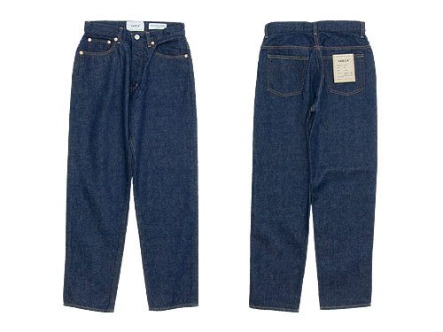 YAECA DENIM PANTS WIDE TAPERED 〔メンズ〕