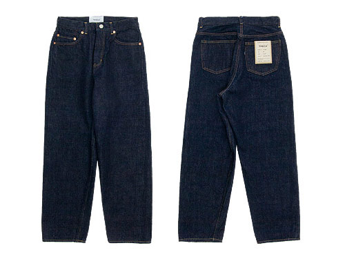 【再入荷】 YAECA DENIM PANTS WIDE STRAIGHT 〔メンズ〕