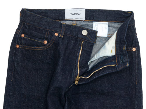 YAECA DENIM PANTS WIDE STRAIGHT 14W