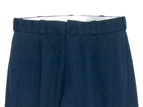 YAECA CHINO CLOTH PANTS TUCK TAPERED