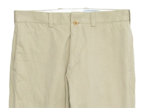 YAECA CHINO CLOTH PANTS STANDARD