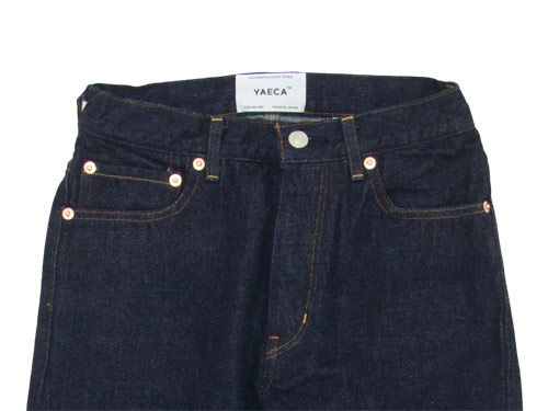 YAECA DENIM PANTS SLIM TAPERED 14W