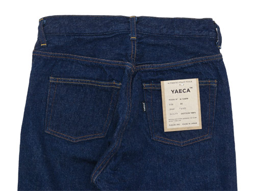 YAECA DENIM PANTS SLIM TAPERED 13WW