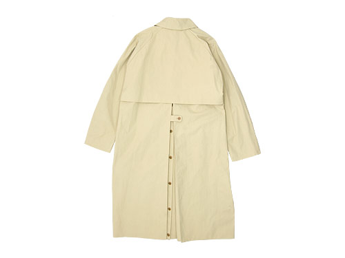 YAECA SOUTIEN COLLAR COAT LONG