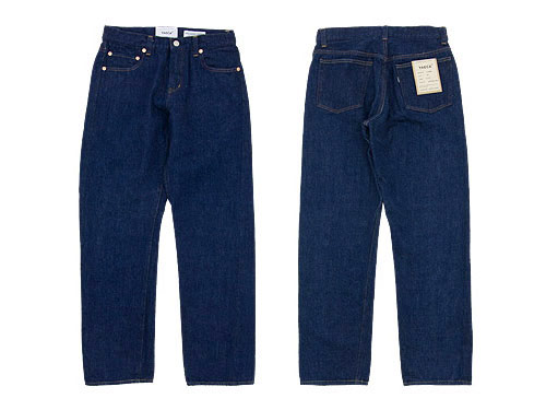 YAECA DENIM PANTS STRAIGHT 〔メンズ〕