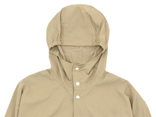 YAECA 60/40 CLOTH HOODED SHIRT LONG