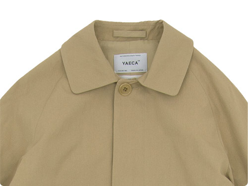 YAECA ステンカラーコート スタンダード