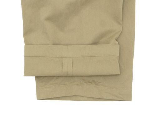 YAECA CHINO CLOTH PANTS STRAIGHT