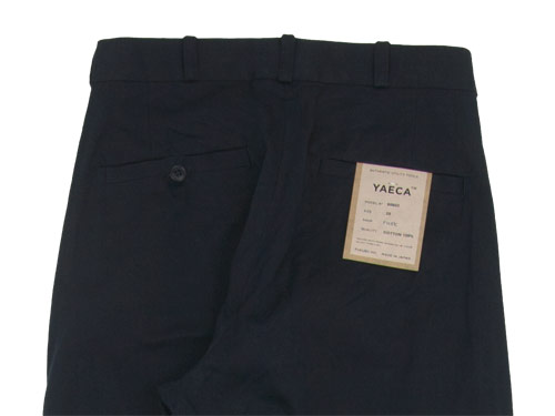 YAECA CHINO CLOTH PANTS TUCK TAPERED