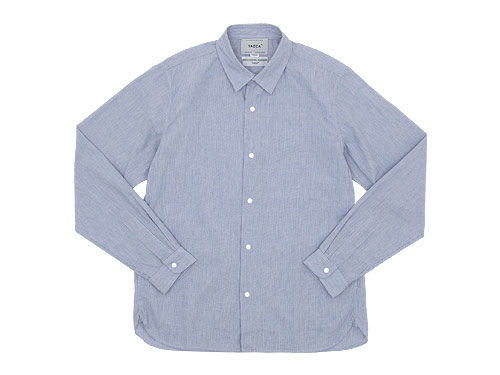 YAECA COMFORT SHIRT REGULAR COLLAR / DENIM PANTS STRAIGHT