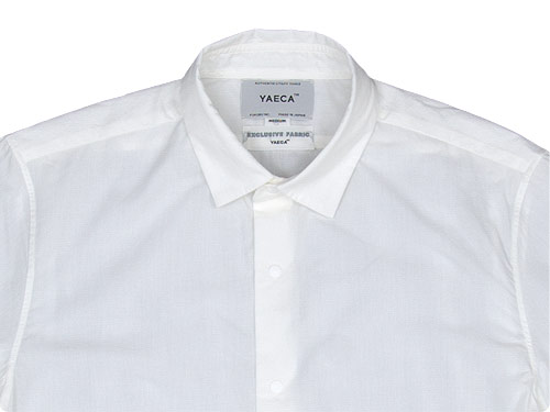 YAECA COMFORT SHIRT LONG〔メンズ〕