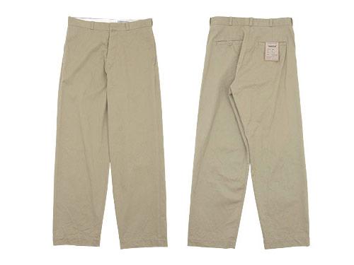 YAECA CHINO CLOTH PANTS WIDE