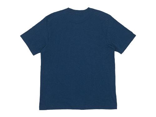 YAECA STOCK 半袖オーガニックTシャツ