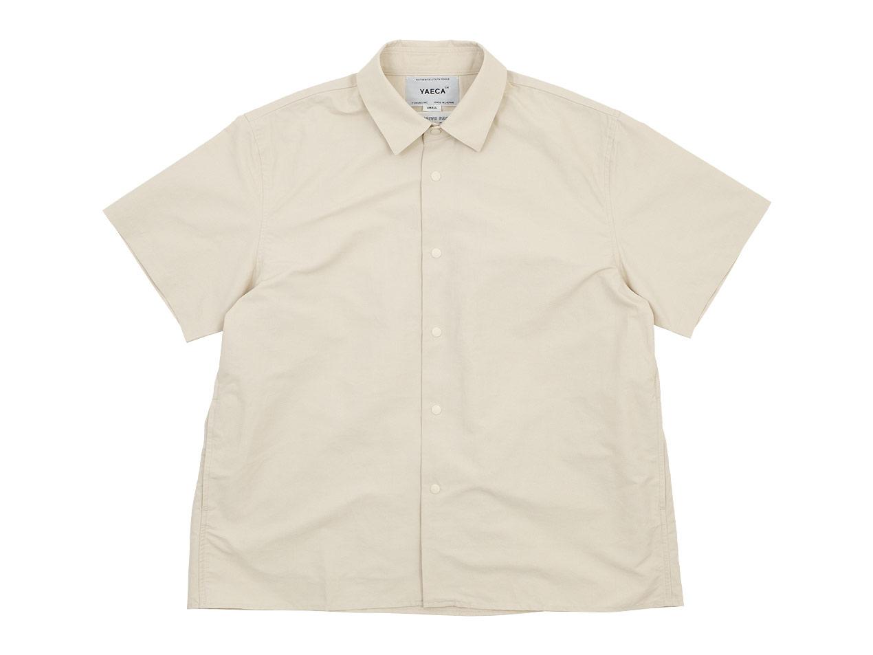 YAECA コンフォートシャツ 半袖 / YAECA チノパン タックテーパード 〔メンズ〕