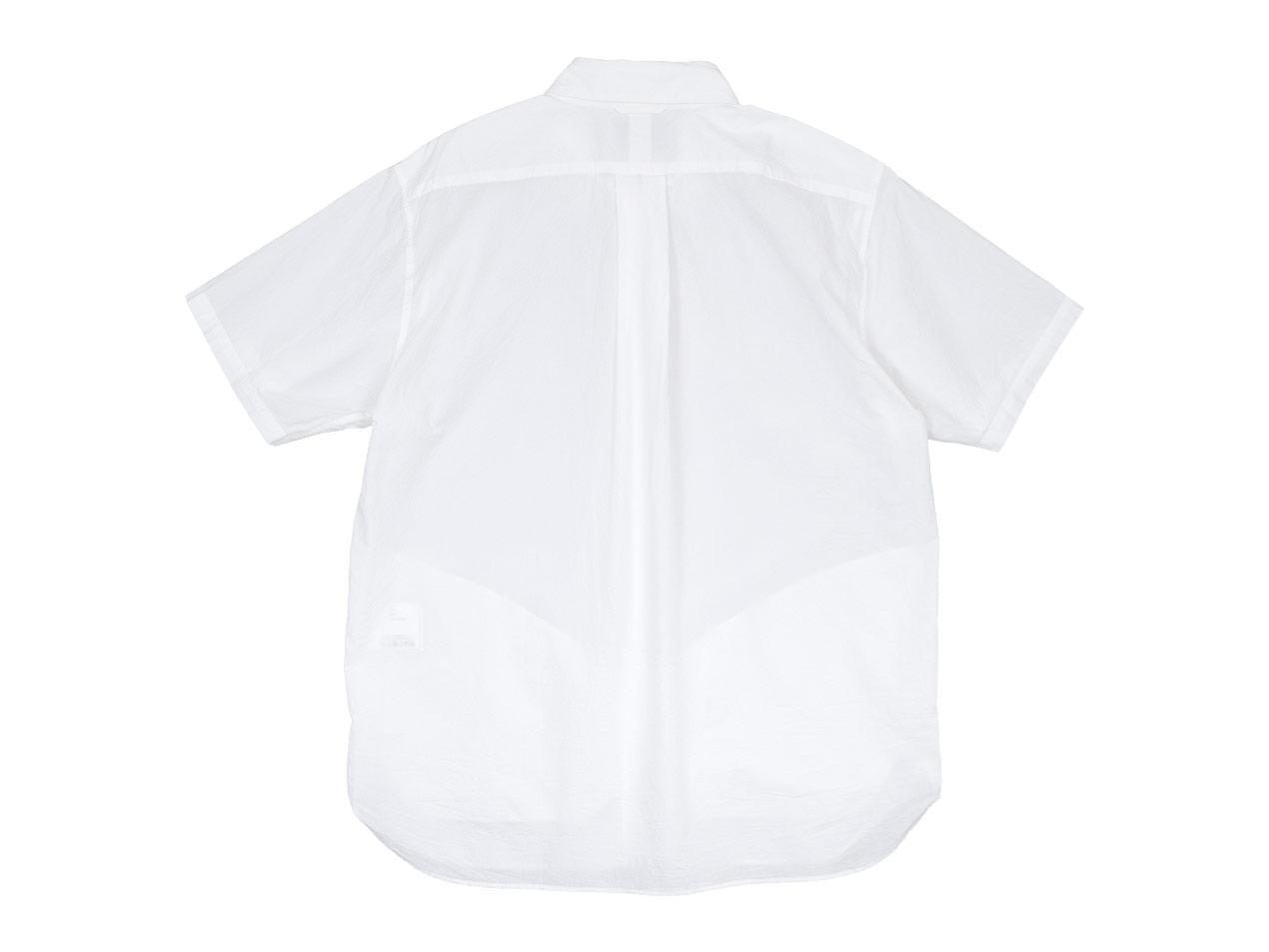 YAECA コンフォートシャツ リラックスロング 半袖〔メンズ〕