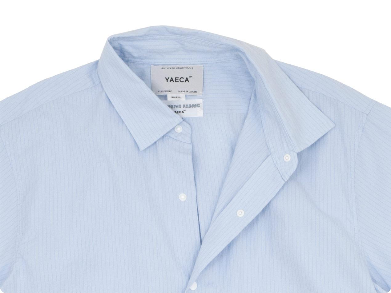 YAECA コンフォートシャツ リラックス ロング 半袖