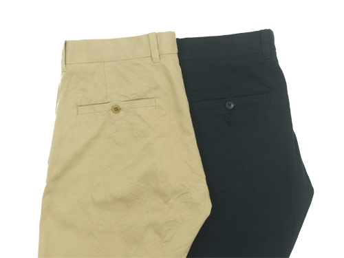 YAECA CHINO CLOTH PANTS color