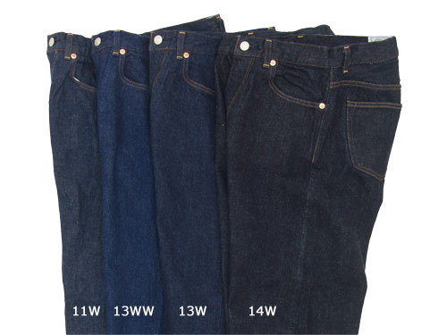 YAECA DENIM color